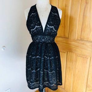 Audrey 3+1 Halter Cocktail Dress